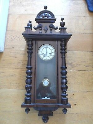 Wooden wall clock spares or repairs