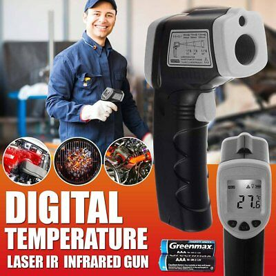 Handheld Digital Laser Thermometer Temperature Non-Contact IR Infrared Gun NEW