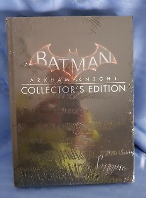 New Batman Arkham Knight Collector's Edition Strategy Game Guide sealed