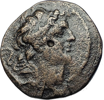 ALEXANDER I BALAS 150BC SELEUKID Apameia Authentic Ancient Greeek Coin i68070