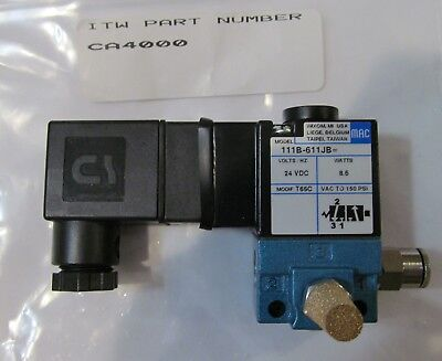 New Itw Dynatec Ca4000 Solenoid Valve Assembly Industrial Ufd System