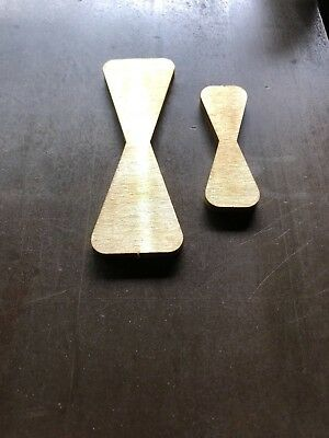 Brass Butterfly / Bowtie Inlay- for wood working