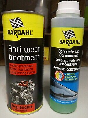 BARDAHL Engine ANTI-WEAR Anti Attrito Anti Usura Olio Motore +OMAGGIO SCREENWASH