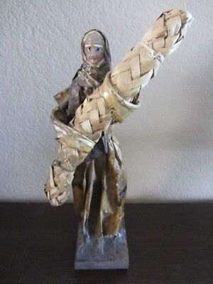 Interesting And Unusual Paper Mache Figure Late 18Th Or Early 19Th Century Italy