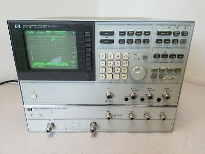 HP 3577A Network Analyzer with 35677A S-Paramater Test Set