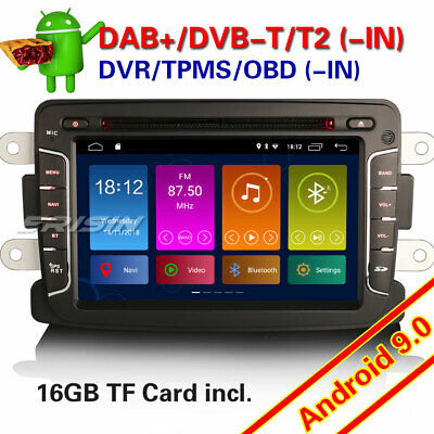 Android 8.0 Renault Dacia Duster Logan Sandero Dokker Lodgy Autoradio DAB+CD DTV