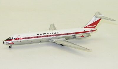 Inflight B-DC90318P Hawaiian Douglas DC-9-31 N903H 1/200 Diecast Model Airplane