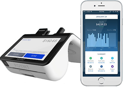 New Poynt Smart Terminal POS - Start Accepting Credit Cards Today