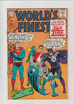 World's Finest Comics #155 (Feb 1966, DC) F Nightman