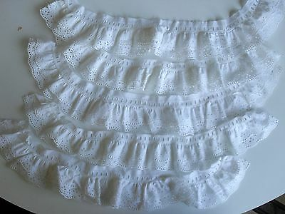 Anciennes Dentelles Broderies Blanches Broderie Couture Deco Old Lace Embroidery