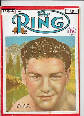 THE RING BOXING MAGAZINE May 1951