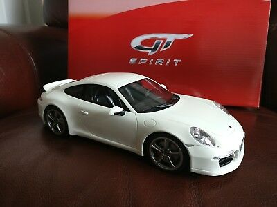 New Gt Spirit Gts Porsche 911 (991) Carrera S Clubsport Sport Design White 1/18