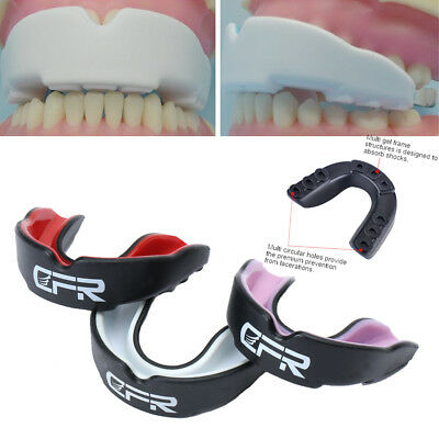 CFR Shockproof Sports Gum Shield Mouth Guard Teeth For MMA Boxing Rugby Grinding