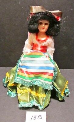 """""""ITALY"""" 1960's Arco Gas Station Premium """"Dolls Of The World"""" - 7.5"""" TALL -  MIB"""