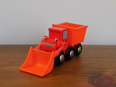 Bob The Builder ~ MUCK ~ Fits Wooden Train Track Genuine Brio (Thomas) RARE !