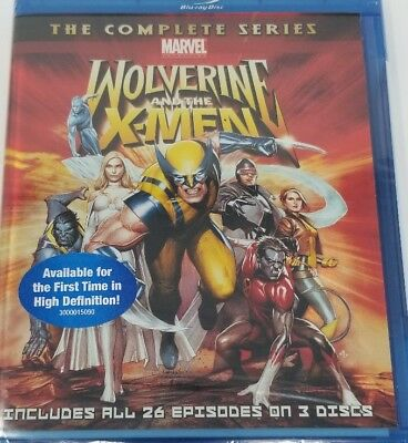 Wolverine and the X-Men: The Complete Blu-ray Region A BLU-RAY/WS