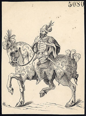 Art Antique Drawing-middle Ages-miniature-item 5066-gerard Claes-1900 Goods Of Every Description Are Available