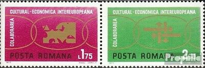 Romania 3020-3021 Couple (complete issue) unmounted mint / never hinged 1972 INT