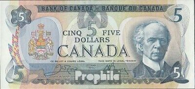 Canada Pick-number: 92b uncirculated 1979 5 Dollars