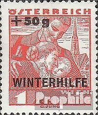 Austria 616 with hinge 1935 Winter Aid