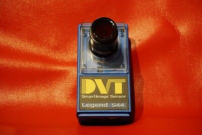 Pre-Owned DVT 544C SMARTIMAGESENSOR SENSOR LEGEND WITH 1:1.8/12mm Lens!