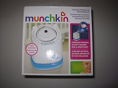 Munchkin Nursery Projector and Sound System, White