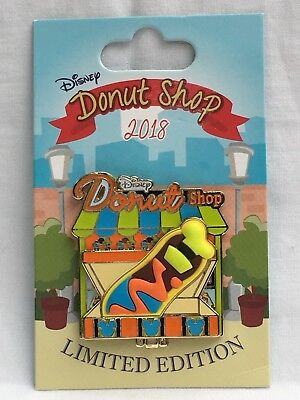 Disney Pin 2018 Donut Shop Goofy Hinged Pin 5th in the Series LE 3000