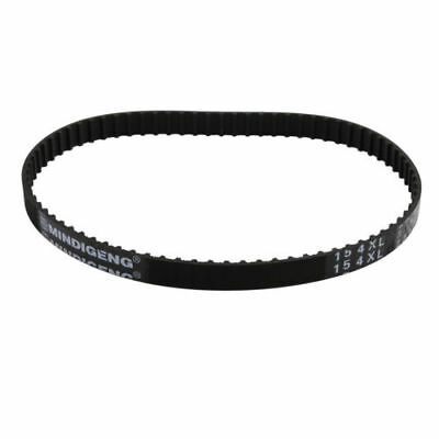 H● 154XL Timing Belt 77 Teeth 10mm Width 5.08mm Pitch Stepper Motor Rubber Black