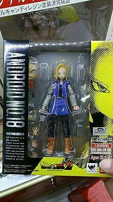 S.H.Figuarts Dragon Ball Z Android No.18 13cm PVC Action Figure Toy New in box