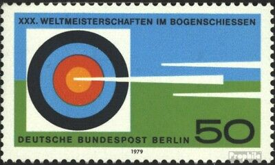 Berlin (West) 599 (complete issue) FDC 1979 Archery-WM