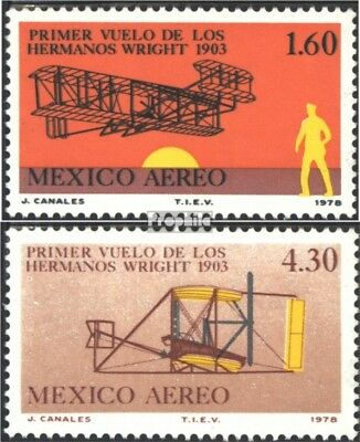 Mexico 1617-1618 (complete issue) unmounted mint / never hinged 1978 1. Motorflu
