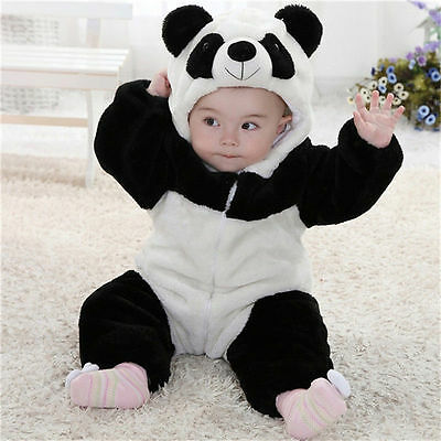 New Kids Baby Animal Costume Bodysuit Climbing Pajamas Romper Jumpsuit Coverall