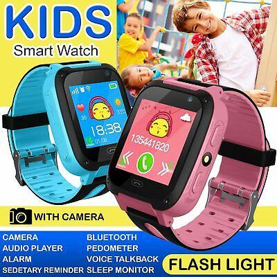 CHILD KIDS Smart Watch Alarm Bluetooth Call MP3 Step Counter For Kids UK