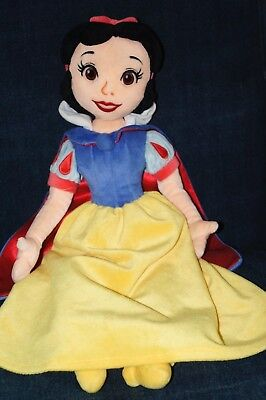 Disney Store Princess Snow White Soft Plush Toy Rag Doll 21""