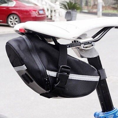 Waterproof Bike Cycling Saddle Bag Seat Pouch Bicycle Tail Rear Storage zzy