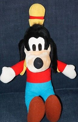"Disney Store Goofy Dog Plush Soft Toy 20"" Vintage"