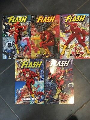 The Flash By Geoff JOHNS / LOT 5 GN DC COMICS