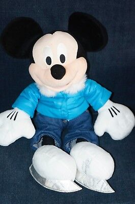 Disney Mickey Mouse Skating Plush Soft Toy 18""