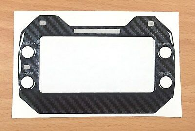Carbon Fibre Look Gel Sticker For Mychron 5 - Karting