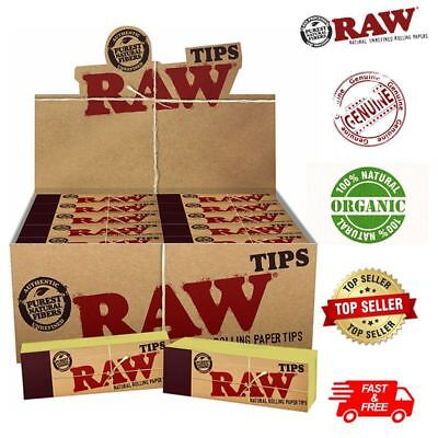 RAW  Original Roach Filter Tips - Natural Chlorine Free Booklets 50-5000