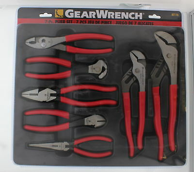 GearWrench 82116 7 Piece Mixed Pliers Set