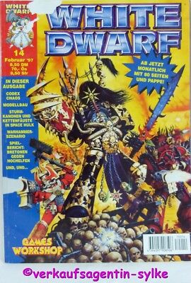 WAHRHAMMER - White Dwarf Magazin Nr.14, Nowember 1997, Games Workshop