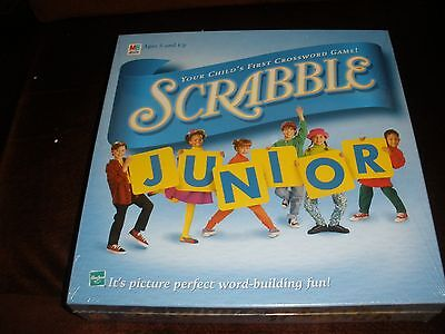 New Sealed  Milton Bradley Scrabble Junior Board Game 1999
