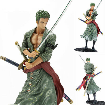 Anime One Piece Roronoa Zoro 8'' Action Figure PVC Model Doll Collection Gift