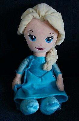 Disney Princess Frozen Elsa the First Doll Plush Soft Toys 12""