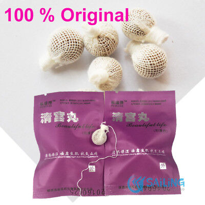 BEAUTIFUL LIFE CLEAN POINT Chinese Tibetan Herbal Tampon Feminine Hygiene