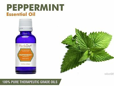 100% Pure Peppermint Essential Oil Mouse & Spider Repellent Aromatherapy Oils