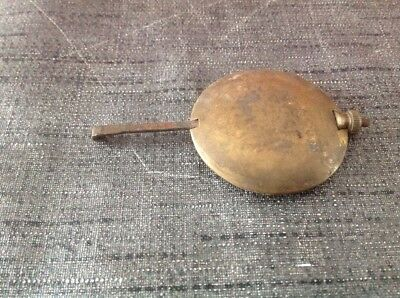 Antique Brass Pendulum 82g 43mm Diameter 80mm Long For Spare Parts