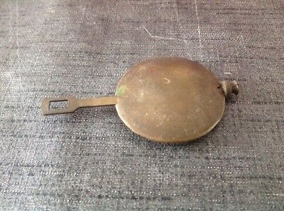 Antique Brass Pendulum 190g 48mm Diameter 85mm Long For Spare Parts
