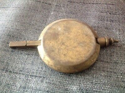 Antique Brass Pendulum 120g 48mm Diameter 85mm Long For Spare Parts